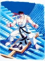 SFII Ryu Art