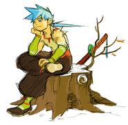 BofFIV Ryu Sitting