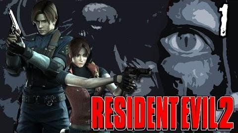 Resident Evil 2 Part 1 - Chopper Dave's Bad Day