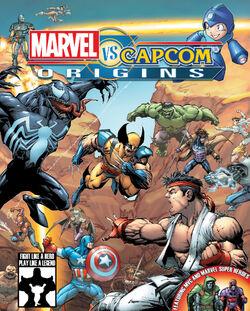 Marvel vs. Capcom Origins cover