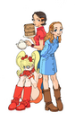 Effie Hoimei and Pat
