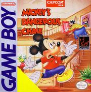 Mickeys Dangerous Chase Box