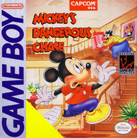 Mickeys Dangerous Chase Box