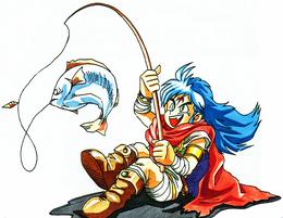 BoF Ryu fishing
