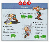 Muscle Bomber Haggar Moves