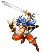 BoFII Ryu Battle