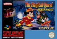 The Magical Quest Starring Mickey Mouse SNES PAL Capcom