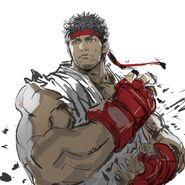 Ryuu street fighter drawn by yasuda akira sample-7bcd3f41496099608139a1950b570a61