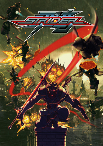 Strider Reboot Art