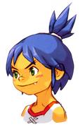 BoF II Young Ryu GBA Portrait