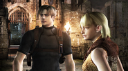 RE4 Leon and Ashley HD screenshot