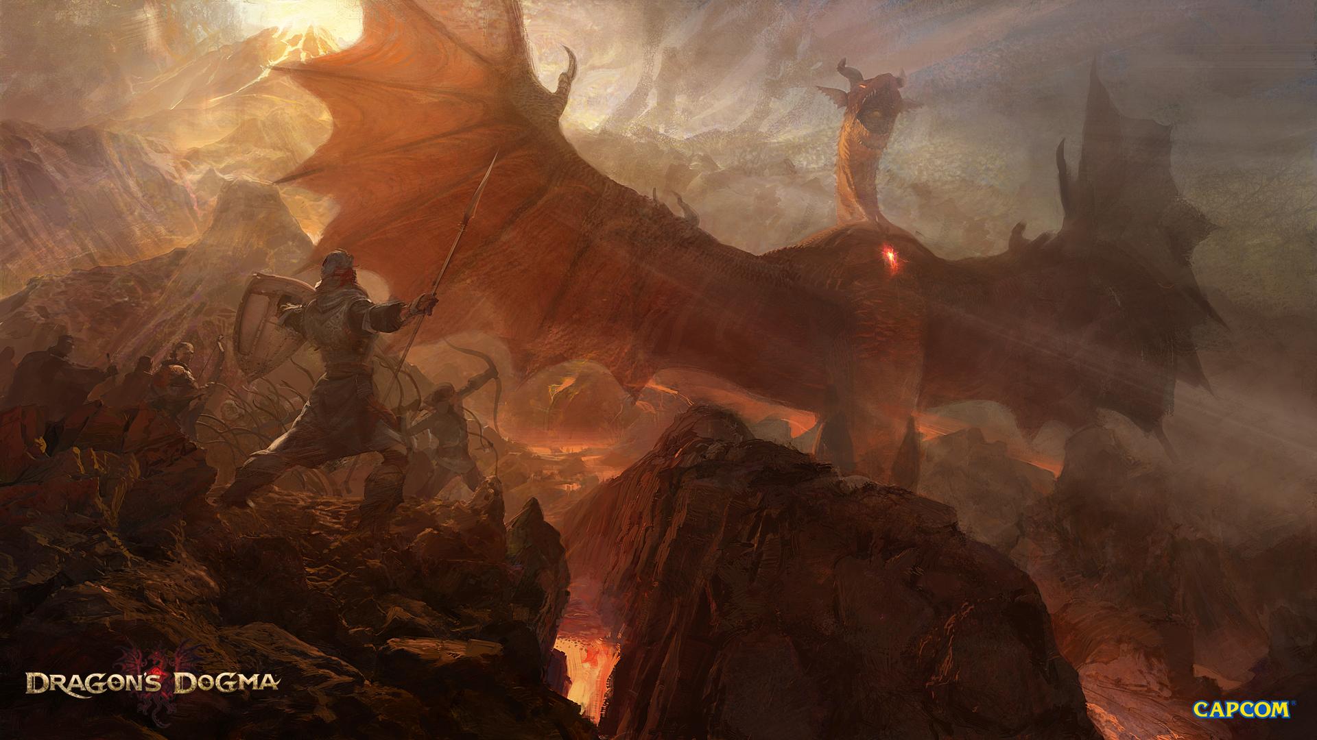 Dragons Dogma HD Wallpaper