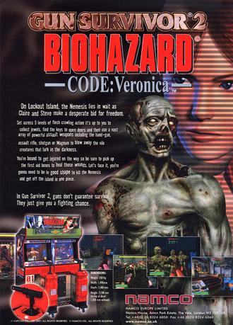 Biohazard Gun Survivor 2 Ad