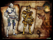 Monster Hunter 3 Tri - concept art