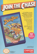 CapcomUSA-DuckTales JoinTheChase NesArt 1990