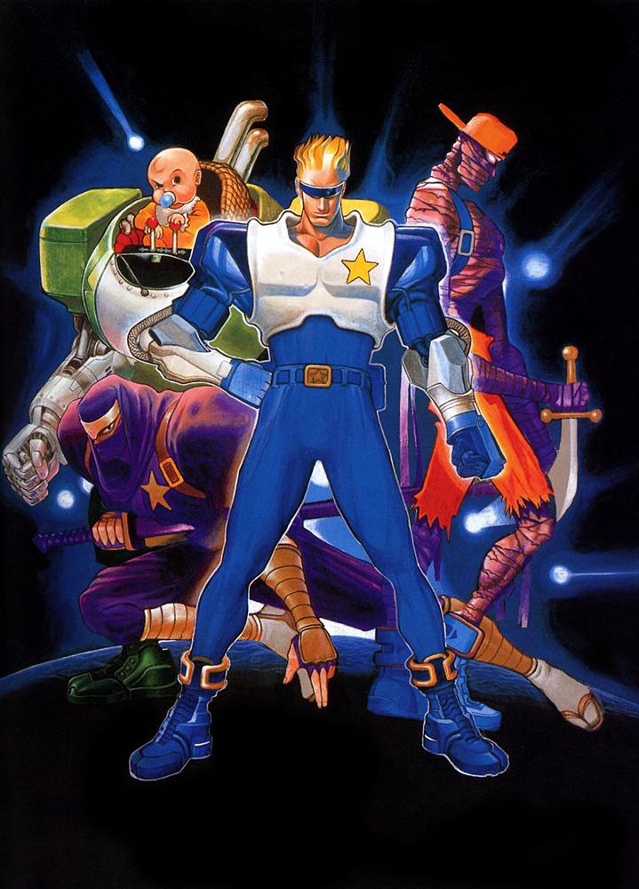 Captain Commando Capcom Database Fandom Powered By Wikia