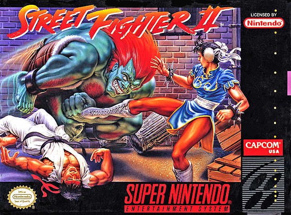 street fighter 2 world warrior box art