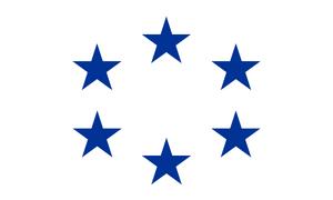 Isteroxean Union Flag (New)