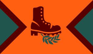 Meristeppe Flag