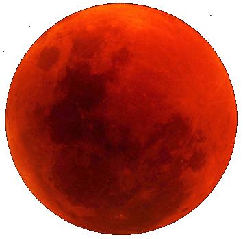 Výsledek obrázku pro blood moon png