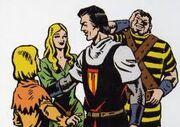 El Capitán Trueno y sus amigos