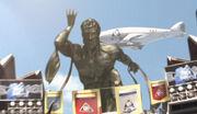Atlas Arena Statue