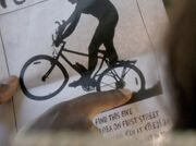 108 Bike Flyer Infinity Symbol