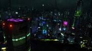 Caprica City Night
