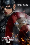 Captain America Civil War Poster 01