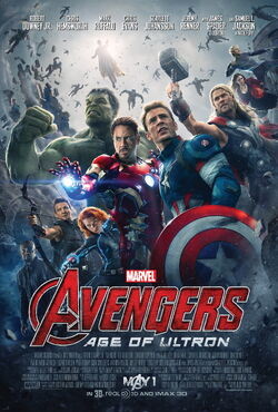 Avengers Age Of Ultron-offical poster