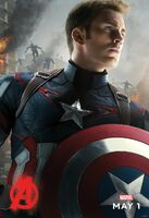 Avengers Age Of Ultron-CaptainAmerica Poster