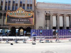 Captain America The First Avenger premiere
