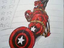 Captain America Red