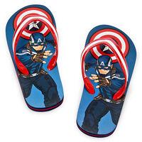 Captain American Flip Flops for Boys