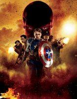 Captain America promo art