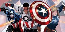 Captain America evolution