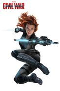 Civil War Promo Black-Widow