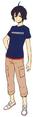 Captain Earth Wiki - Character - Daichi Manatsu - Original Design by Minato Fumi.png