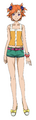 Captain Earth Wiki - Character - Akari Yomatsuri - Casual.png