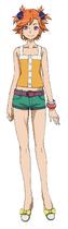 Captain Earth Wiki - Character - Akari Yomatsuri - Casual