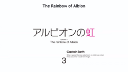 Episode 3 - The Rainbow of Albion - Title Slate