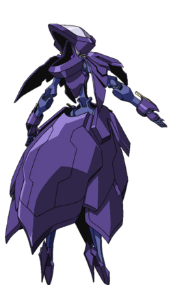 Captain Earth Wiki - Mech - Kiltgang - Type-8 - Siren - Back