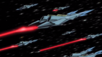 Captain Earth Wiki - Vehicle - Oberon - Turret Drones