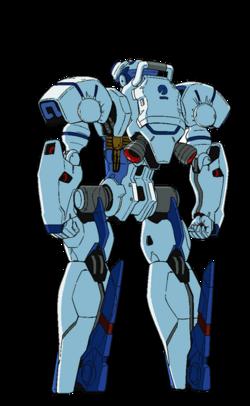 Captain Earth Wiki - Mech - Engine - Nebula - Ordinary - Back
