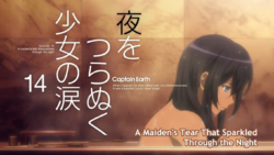 Episode 14 - A Maiden's Tear That Sparkled Through the Night - Title Slate
