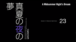 Episode 23 - A Midsummer's Nights Dream - Title Slate