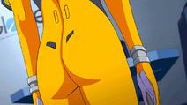 Akari flight suit close up