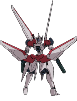 Captain Earth Wiki - Mech - Machine Goodfellow - Moukouto - Back