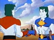 Captain Planet meets his future counterpart