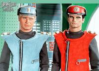 Captain Scarlet and Captain Blue